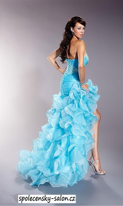 ... růžové sexy plesové šaty na maturitní ples. plesové šaty » p na  objednání » klasické 2ac21f83e7